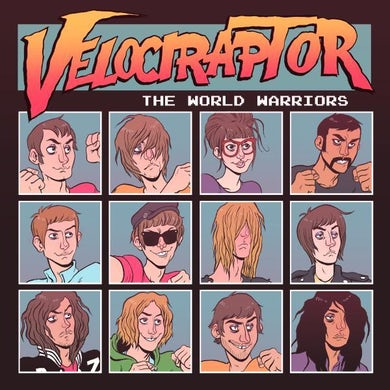Velociraptor The World Warriors CD