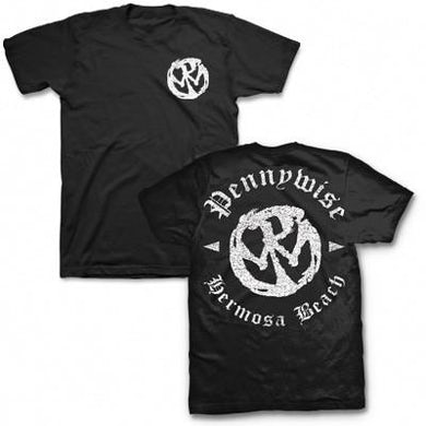 Pennywise Hermosa Beach Logo T-shirt (Black)