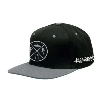 Papa Roach Crossing Logo Snapback Hat