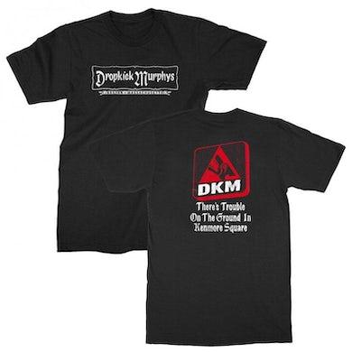 Dropkick Murphys Kenmore Sqaure T-shirt (Black)