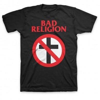 Bad Religion Classic Crossbuster T-shirt (Black)