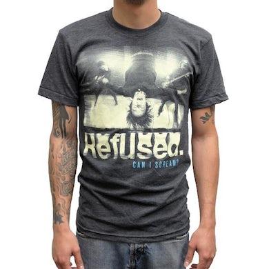 Refused Can I Scream T-shirt (Grey)