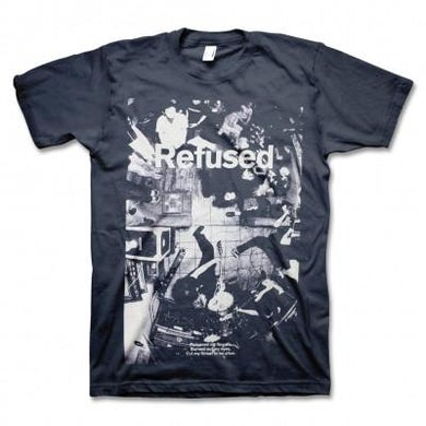 Refused Live Photo T-shirt (Navy)
