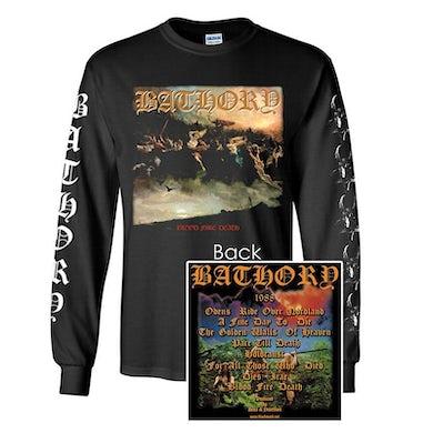 Bathory Blood Fire Death Long Sleeve