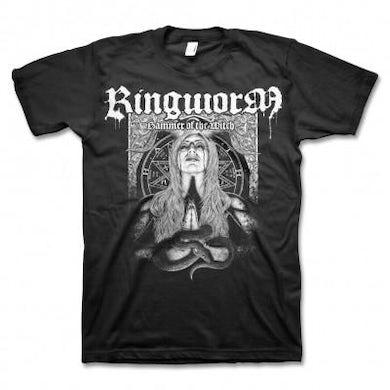 Ringworm Snake Woman T-shirt