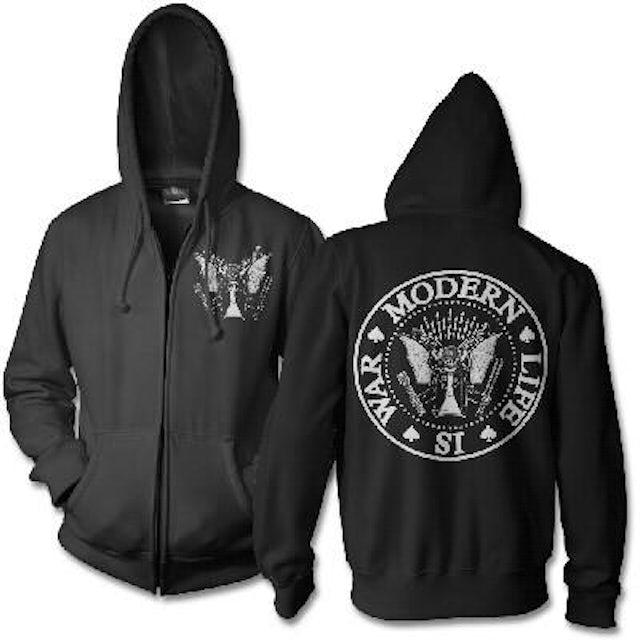 Modern Life Is War Dead Ramone Hoodie