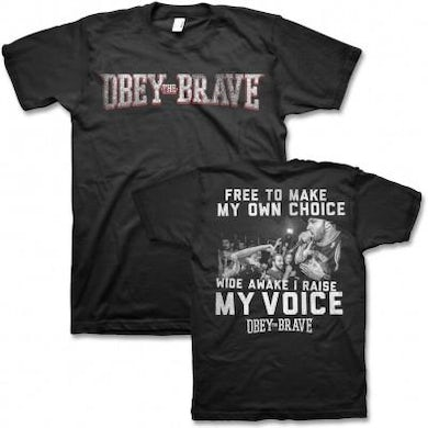 Obey The Brave Live T-shirt