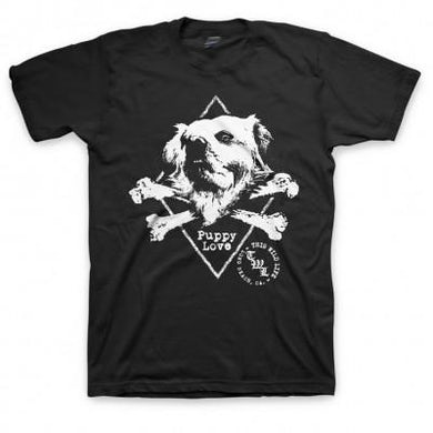 This Wild Life Puppy Love T-shirt (Black)