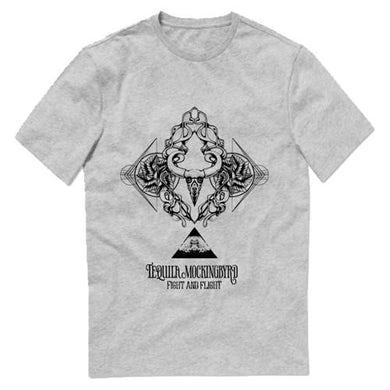 Fight and Flight T-shirt (Grey)