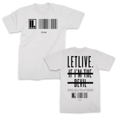 Letlive Scanner T-shirt (White)