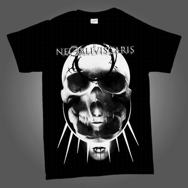 NE OBLIVISCARIS Rising Skull T-shirt (Black)