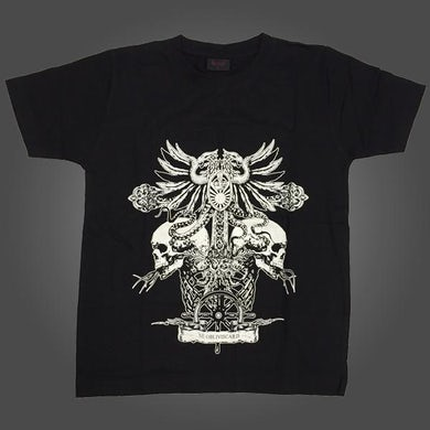 NE OBLIVISCARIS Tapestry T-shirt (Black)