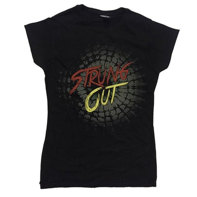 Strung Out 2016 Tour Womens T-shirt (Black)