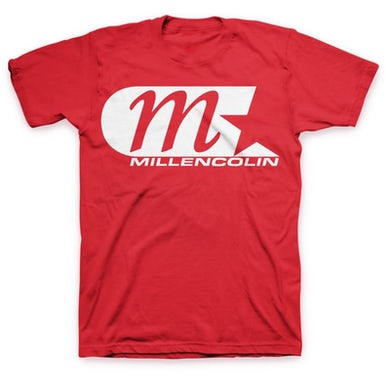 Millencolin M-Star Logo T-shirt (Red) Tour Ed
