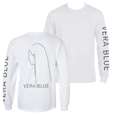 Vera Blue Figure Longsleeve (White)