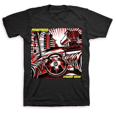 Pennywise Straight Ahead Cover T-shirt (Black)