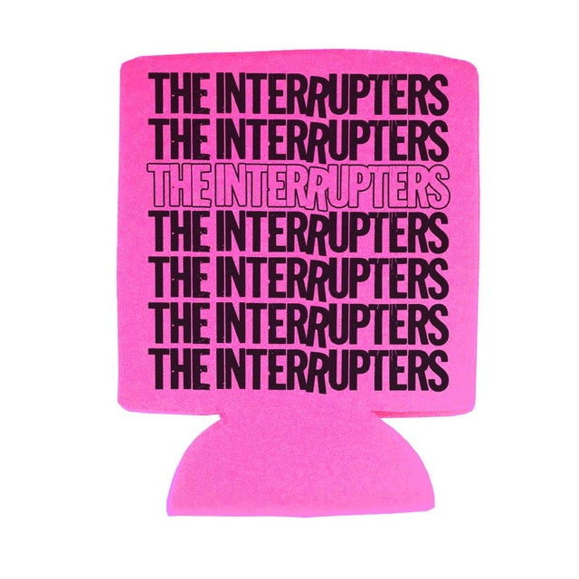 The Interrupters Repeater Coozie (Pink)