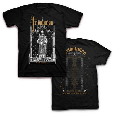 Tribulation 2016 US Tour T-shirt (Black)