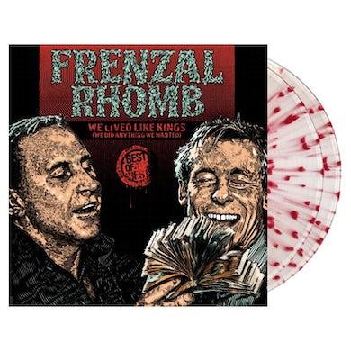 Frenzal Rhomb We Lived Like Kings - The Best Of 2LP (Clear w/ Blood Red Splatter) (Vinyl)