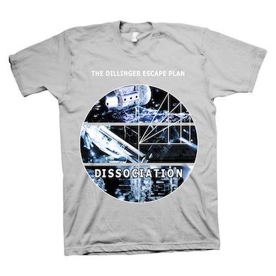 The Dillinger Escape Plan Dissociation Grey T-shirt