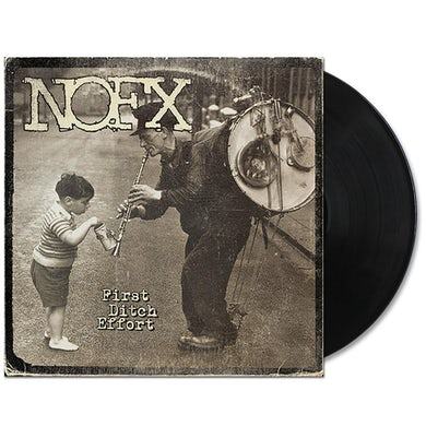 Nofx First Ditch Effort LP (Black) (Vinyl)