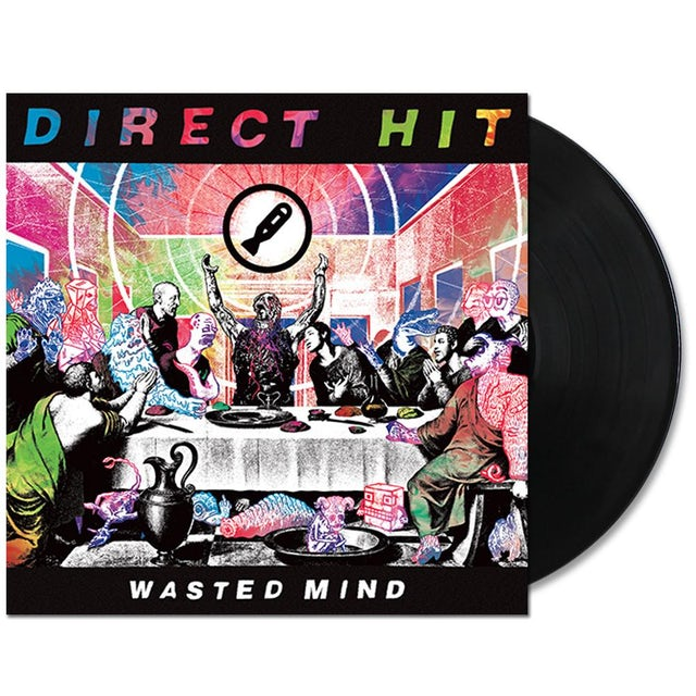 Direct Hit! Wasted Mind LP (Vinyl)