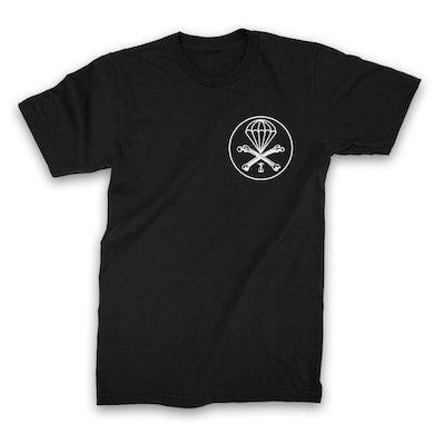 Frank Iero Parachute T-shirt (Black)