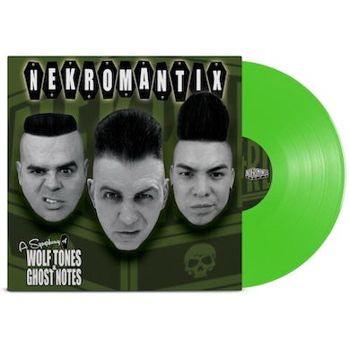 Nekromantix A Symphony Of Wolf Tones & Ghost Notes LP (Green) (Vinyl)