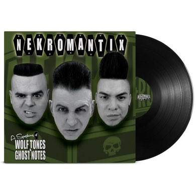 Nekromantix A Symphony Of Wolf Tones & Ghost Notes LP (Black) (Vinyl)
