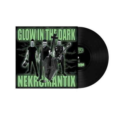 "Nekromantix Glow In the Dark 7"" (Black) (Vinyl)"