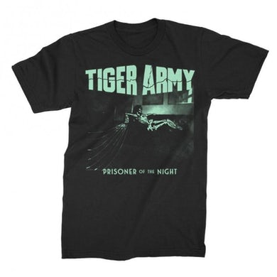 Tiger Army Prisoner Of The Night T (Glow In The Dark)
