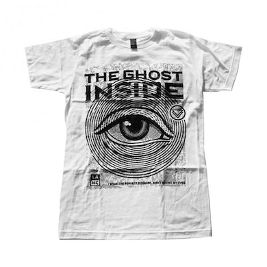 The Ghost Inside Eye T (White)