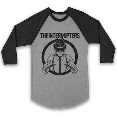 The Interrupters Suspenders Raglan (Black/Heather)