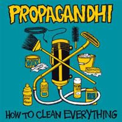 Propagandhi How To Clean Everything CD (20th Anniv Ed)