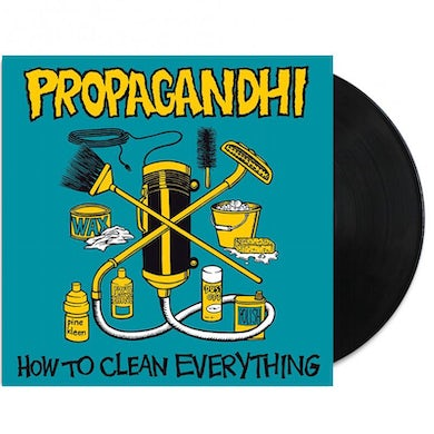 Propagandhi How To Clean Everything LP (20th Anniv Ed) (Vinyl)