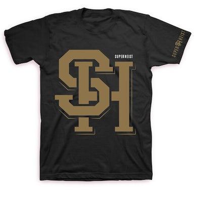 Superheist Gold Logo T (Black)