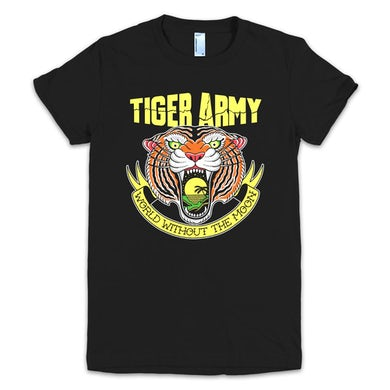 Tiger Army World Without The Moon T Womens (Black)