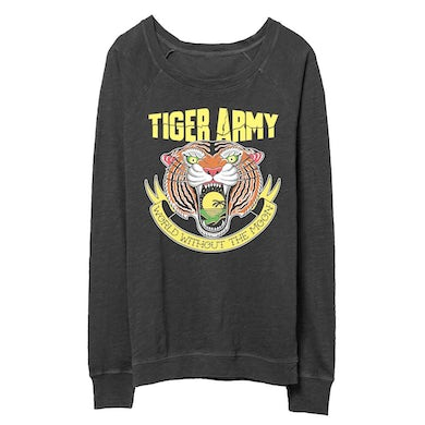Tiger Army World Without The Moon Womens Slouchy Crewneck