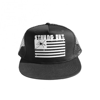 Strung Out Flag Logo Trucker Hat
