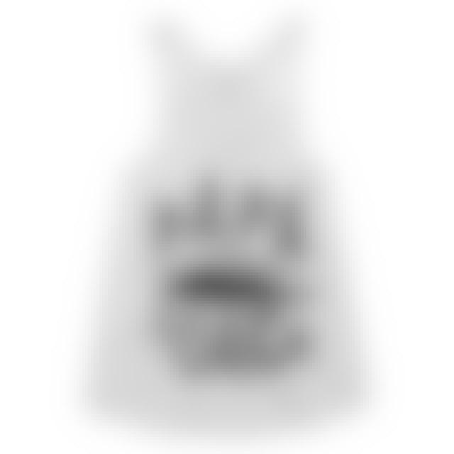 Papa Roach Classic Logo Racerback Womens Tank (White)