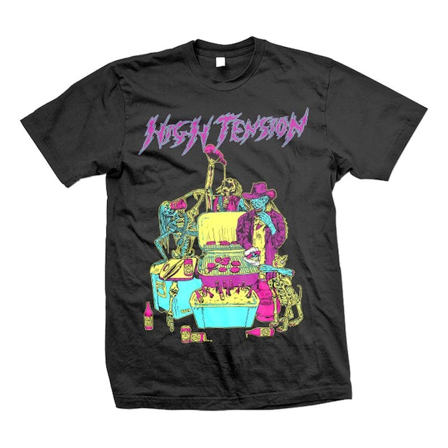 High Tension Zombie BBQ T (Black)