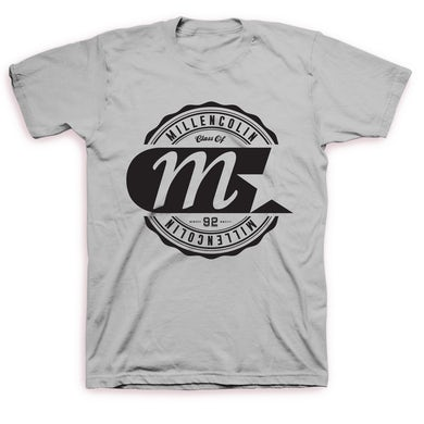 Millencolin Logo Label T-shirt (Grey)