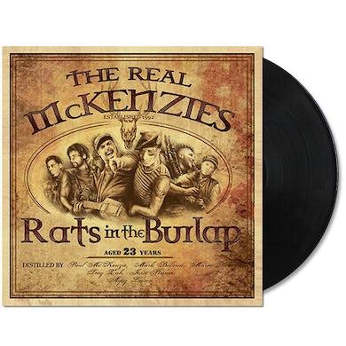 The Real McKenzies Rats In The Burlap LP (Black) (Vinyl)