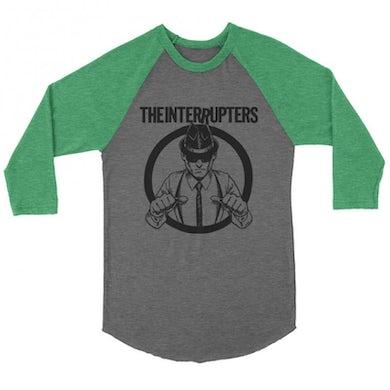 The Interrupters Suspenders Raglan (Green/Heather)