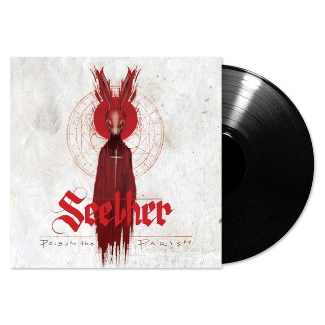 Seether Poison The Parish LP (Black) + Signed Postcard (Vinyl)