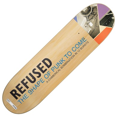 Refused Shape Of Punk To Come Skate Deck (Limited Edition)