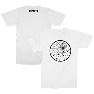 Clipping Splendor & Misery T-shirt (White)