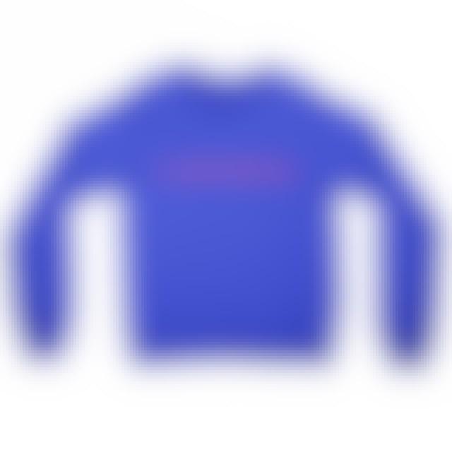 Clipping Logo Crewneck (Royal Blue)