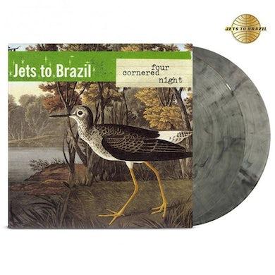 Jets to Brazil Four Cornered Night 2LP (Clear/Black) (Vinyl)