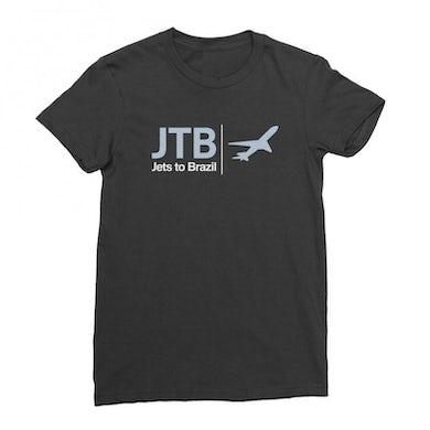 Jets to Brazil Airplaine Tee (Black)